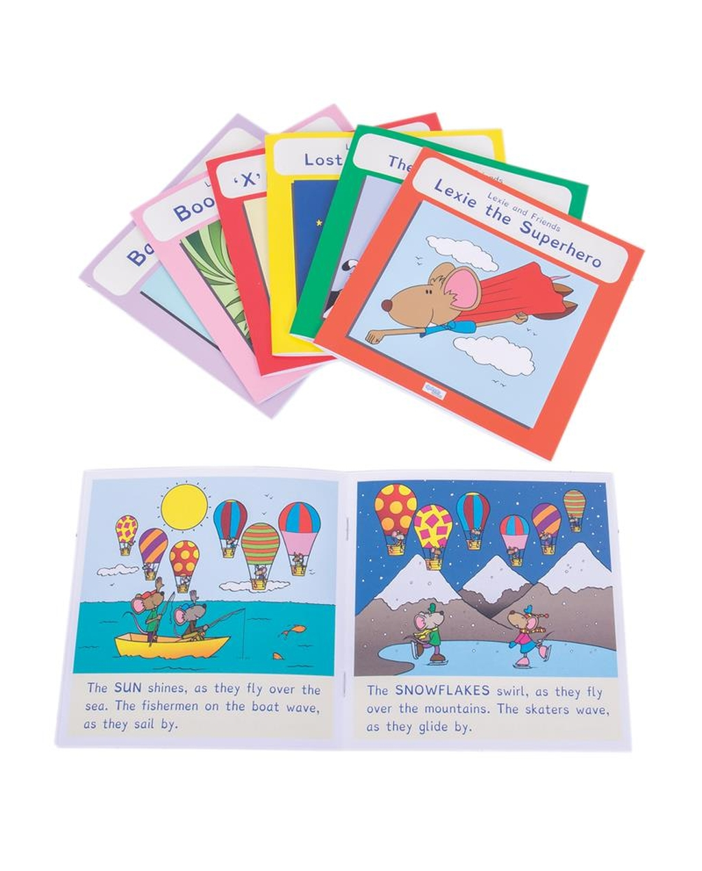 Lexie Mouse Phonic Coloured Book Band - Set 3