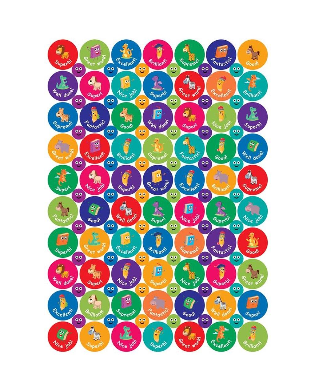 Compilation Reward Stickers