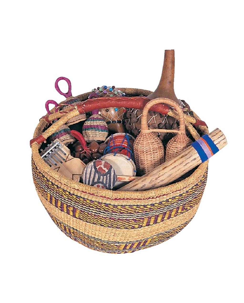 Multicultural Basket of Instruments