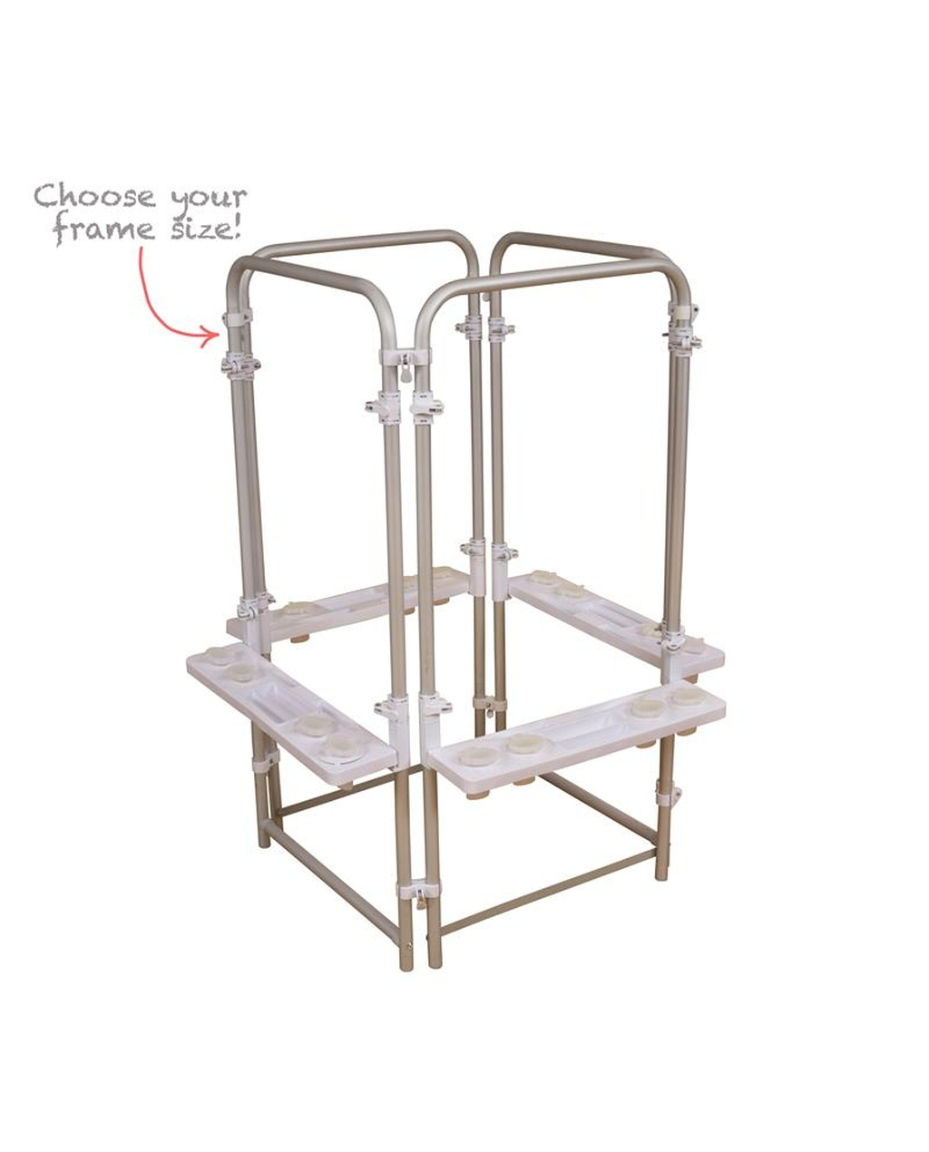 Aluminium Easel - Triple Leg Set - 4 Sided