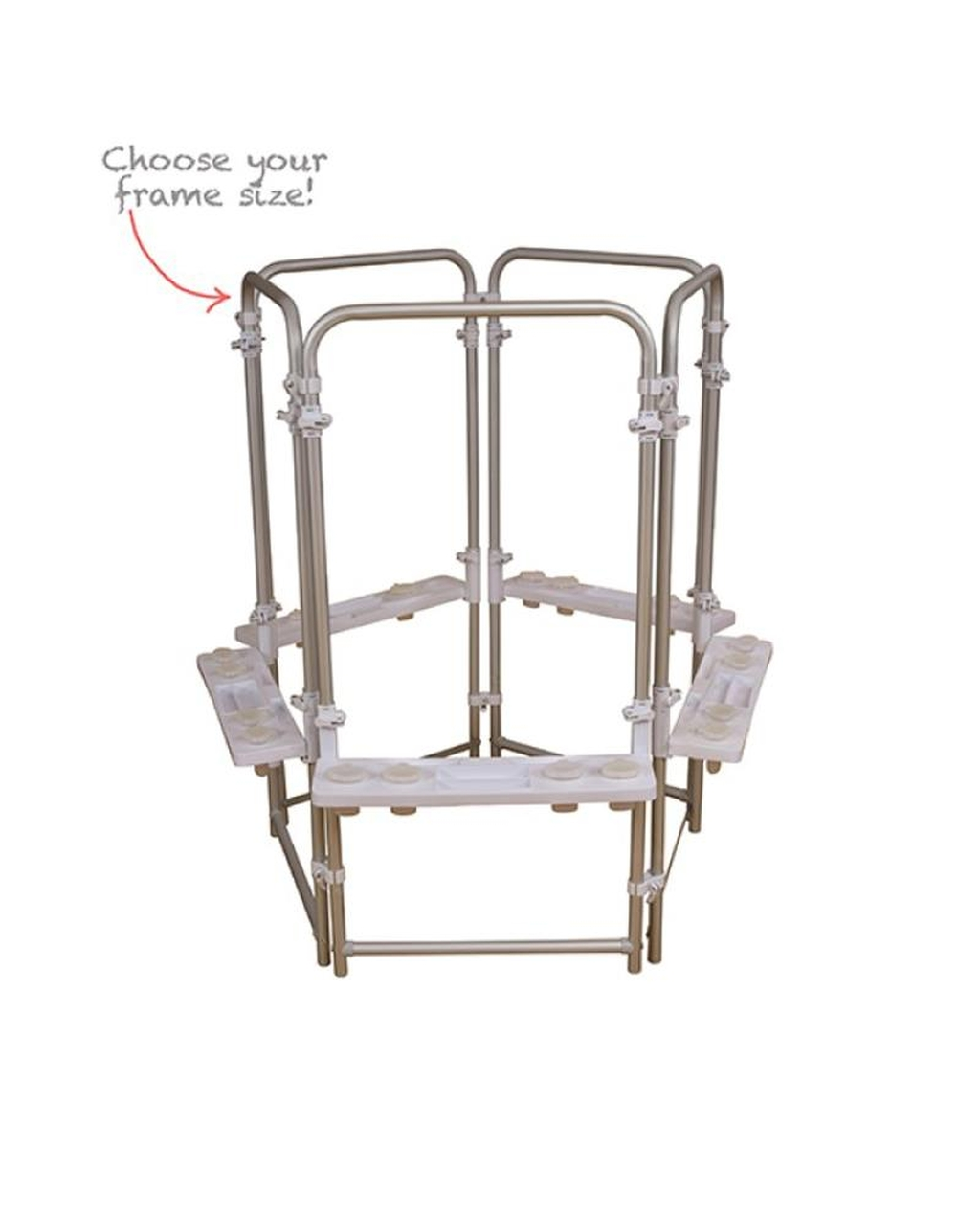 Aluminium Easel - Triple Leg Set - 5 Sided