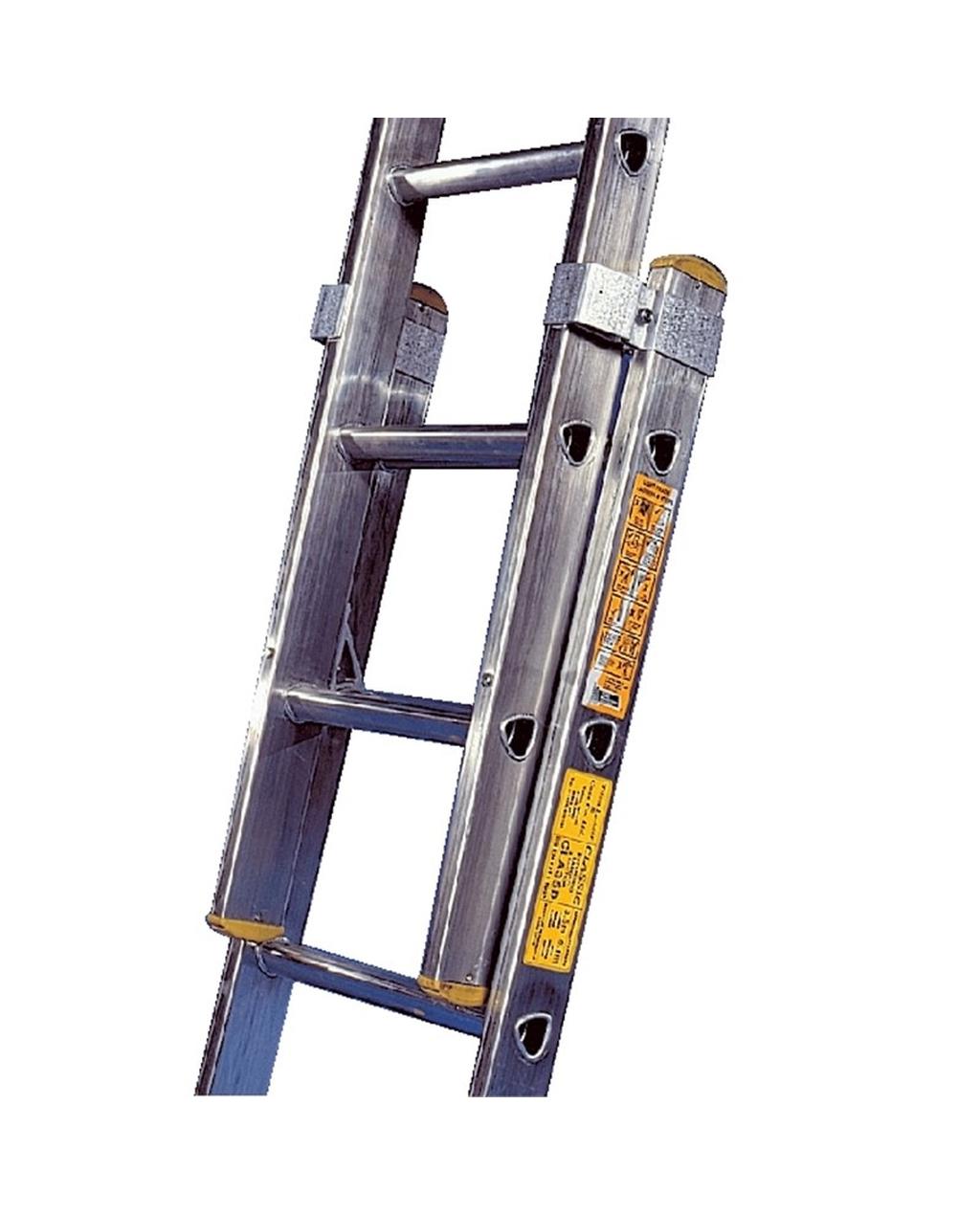 Aluminium Ladder 2 Section, 15 Rung