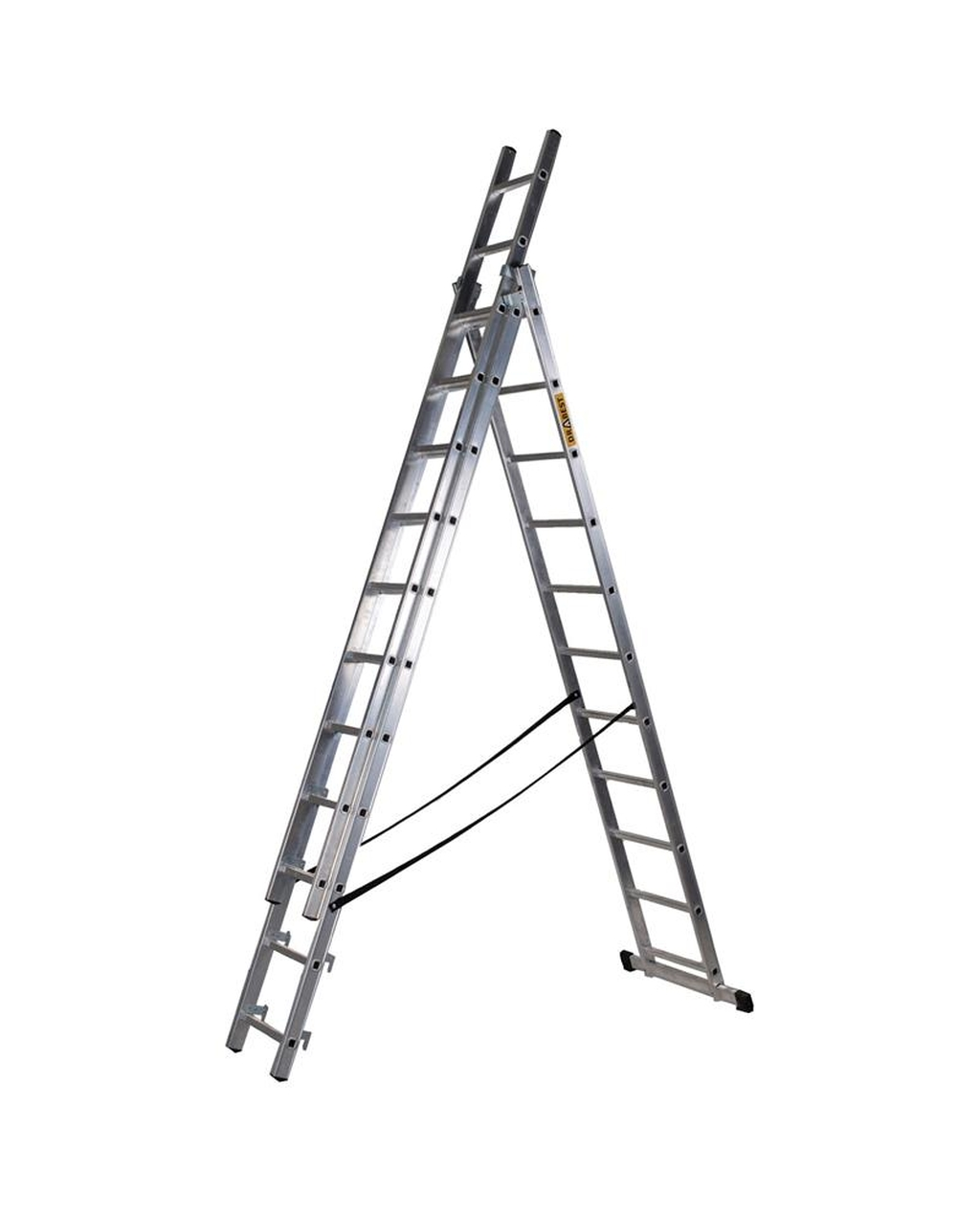 Aluminium Ladder 3 Section, 11 Rung