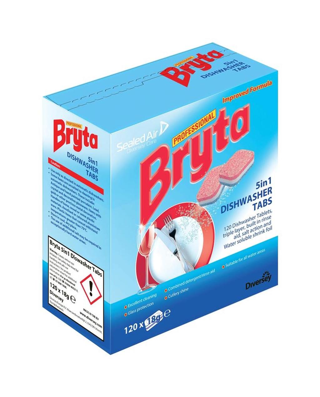 5 in 1 Bryta Dishwasher Tablets