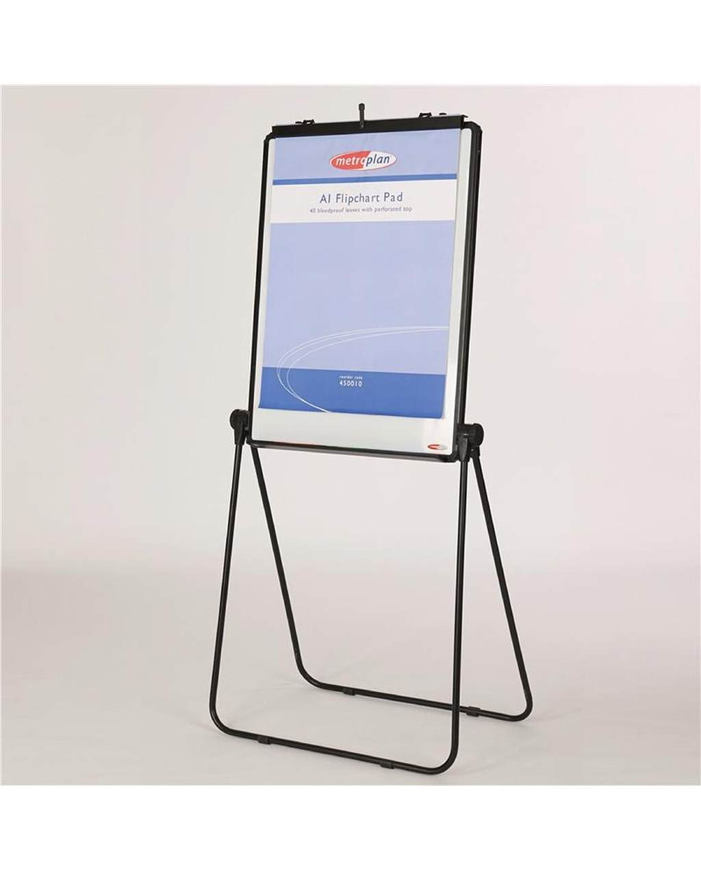 Ultimate Loop Leg Flipchart Easel Black