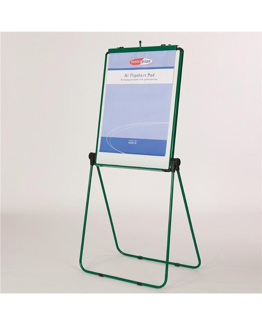 Ultimate Loop Leg Flipchart Easel Green