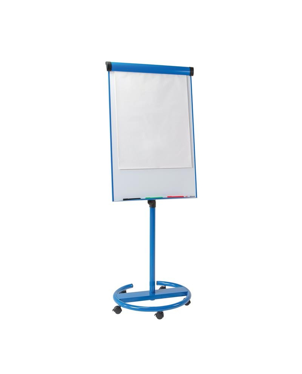 Ultimate Mobile Flipchart Easel Blue