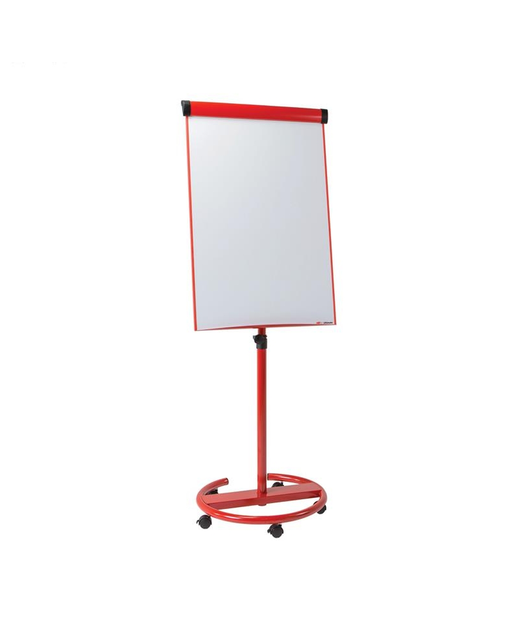 Ultimate Mobile Flipchart Easel Red