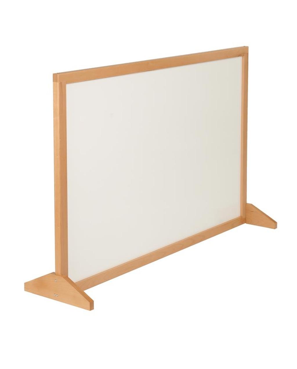 Delu X e Wood Framed Whiteboard Screens 1800 X 1200