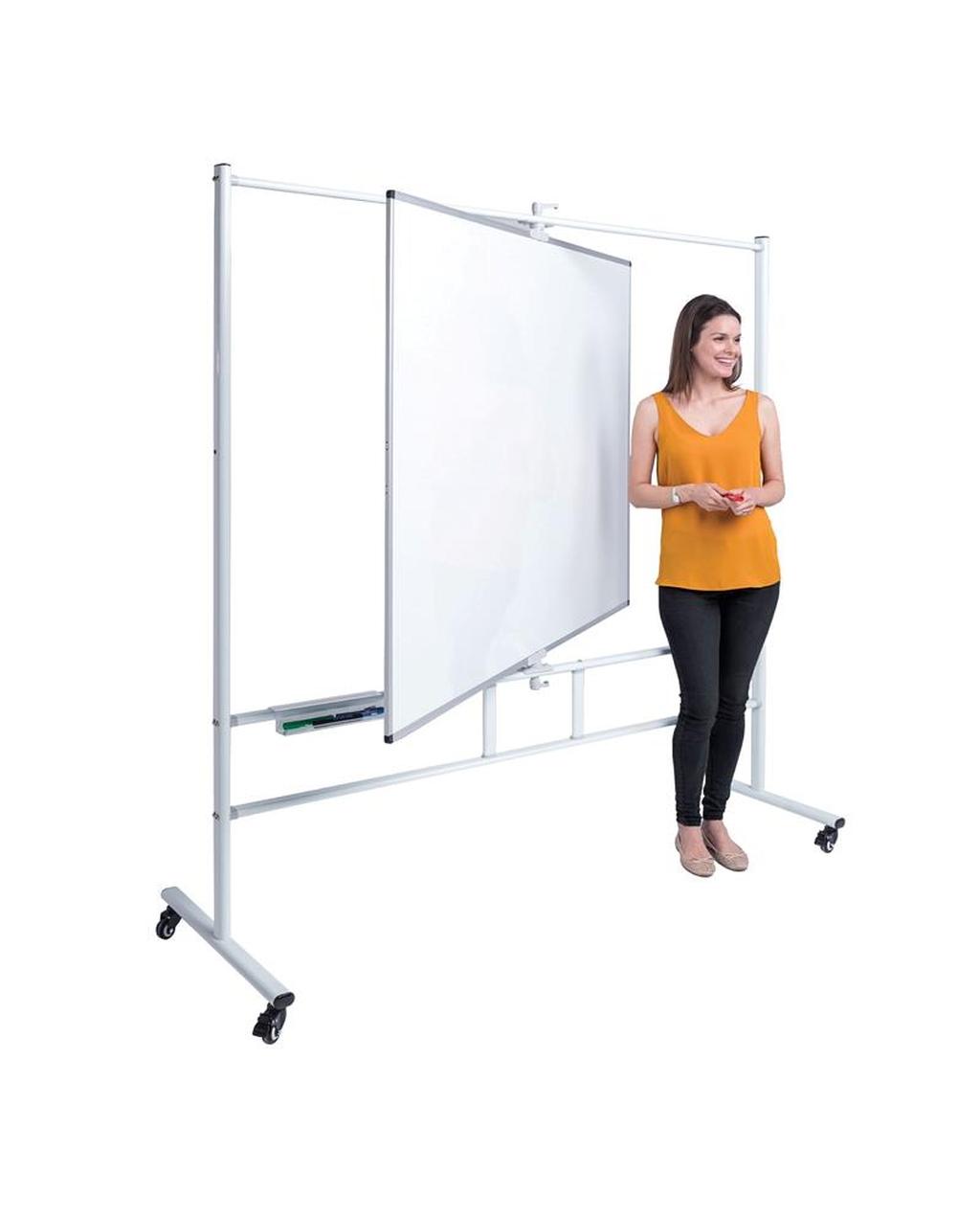 Writeangle Revolving Whiteboard 1200  X 1200