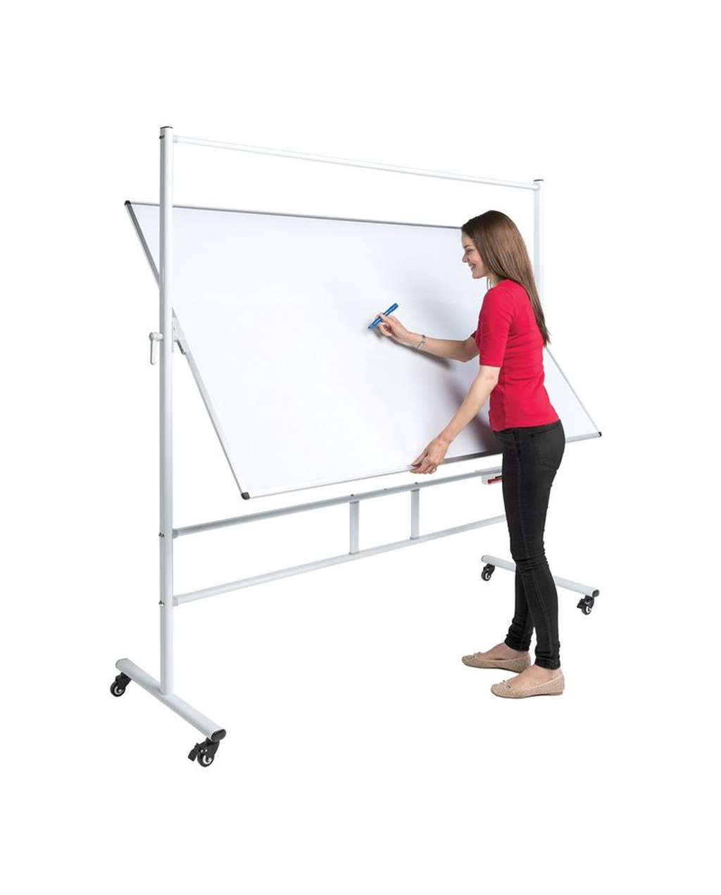 Writeangle Revolving Whiteboard 1200  X 1200 Mag