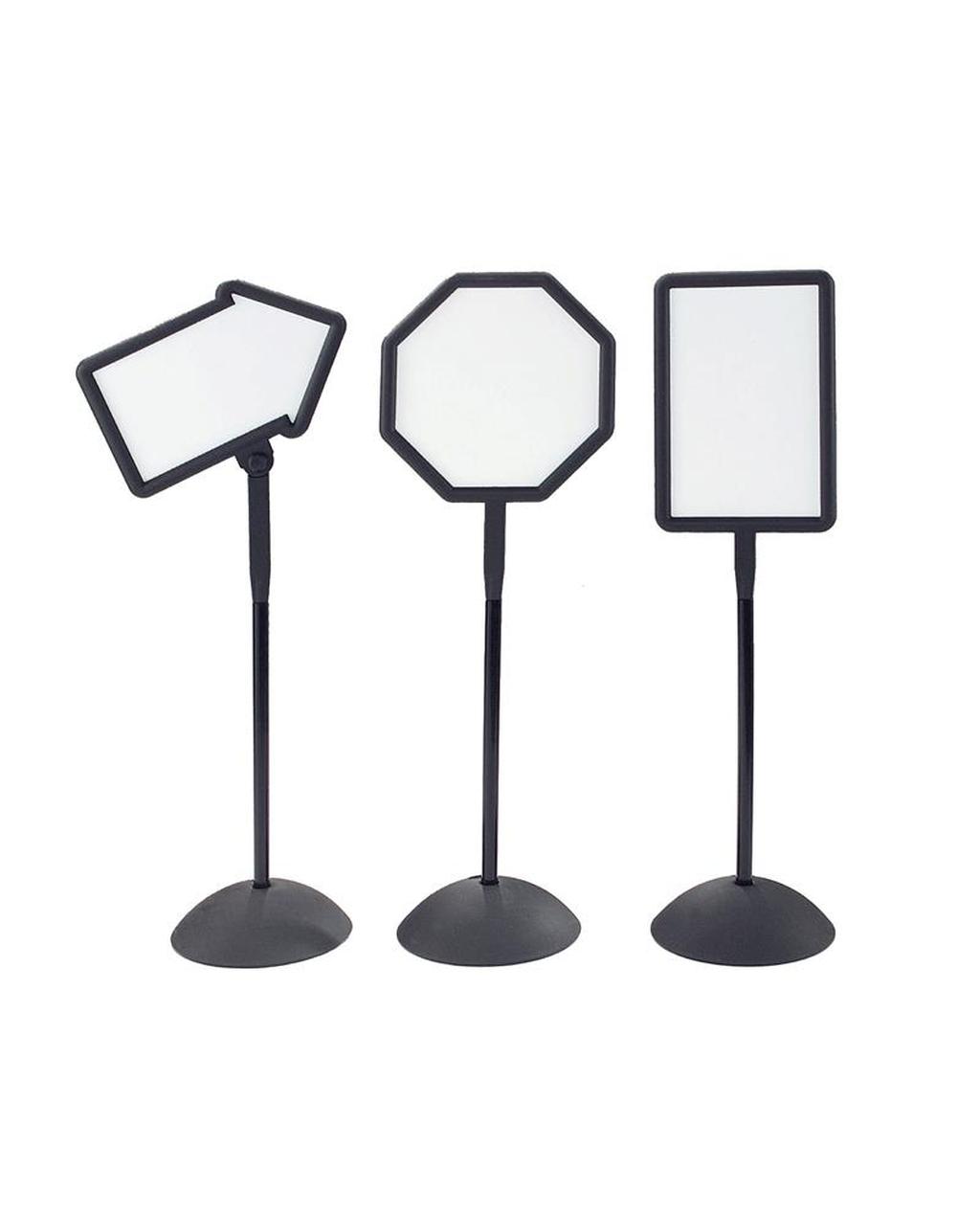 Freestanding Whiteboard Signs Arrow