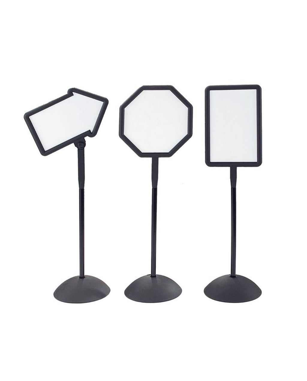 Freestanding Whiteboard Signs Set Of 3 Signs
