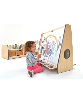 Double Sided Paintings Easels Low Floor