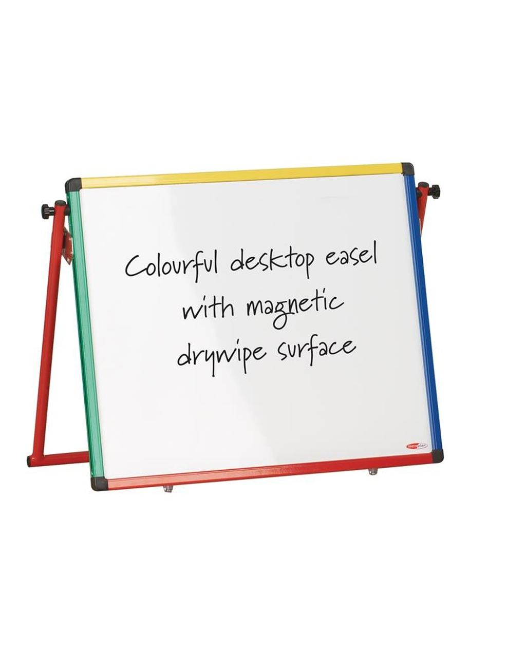 Junior Desktop Easel Multi-Coloured Frame