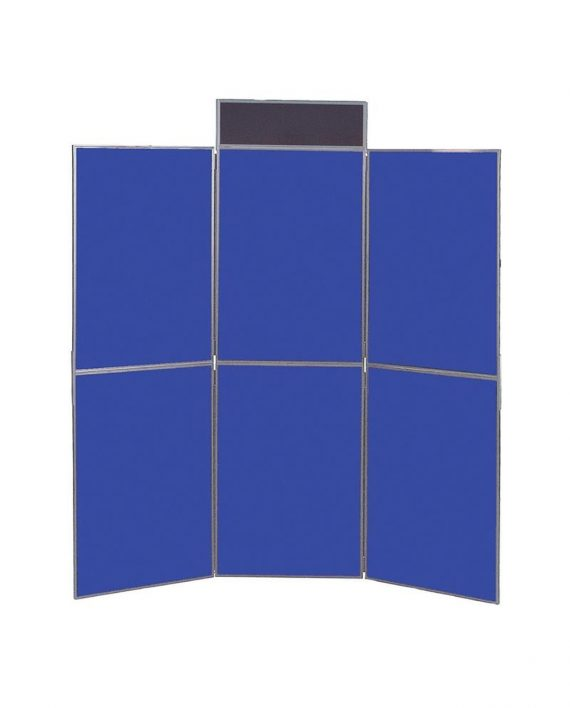Busyfold Light 6 Panel Display Grey Trim