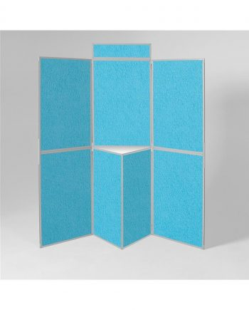Busyfold Light 7 Panel Display Grey Trim
