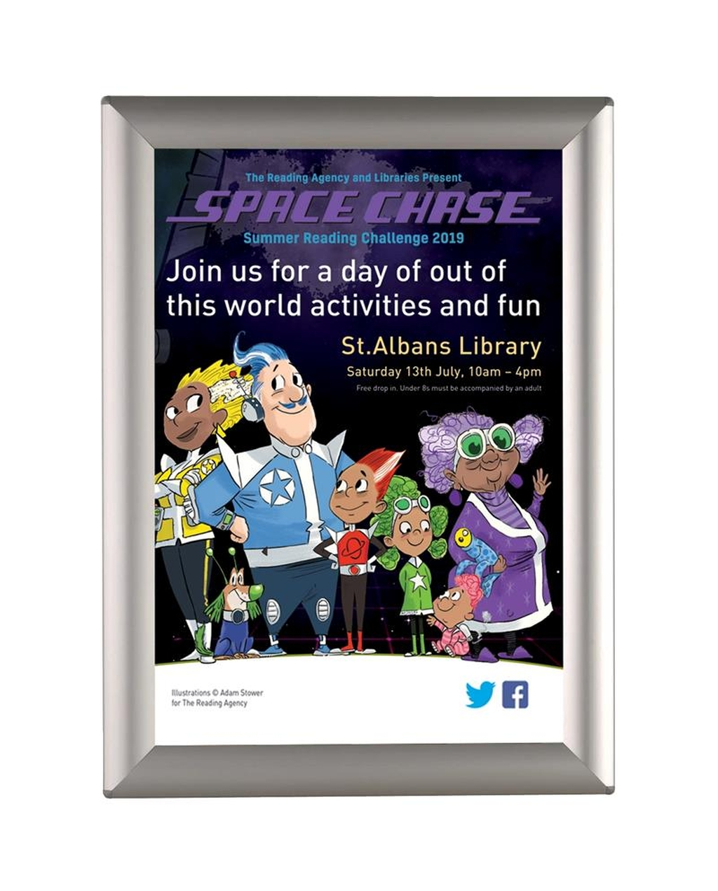 Busygrip Alu Poster Frame A4 297 X 210