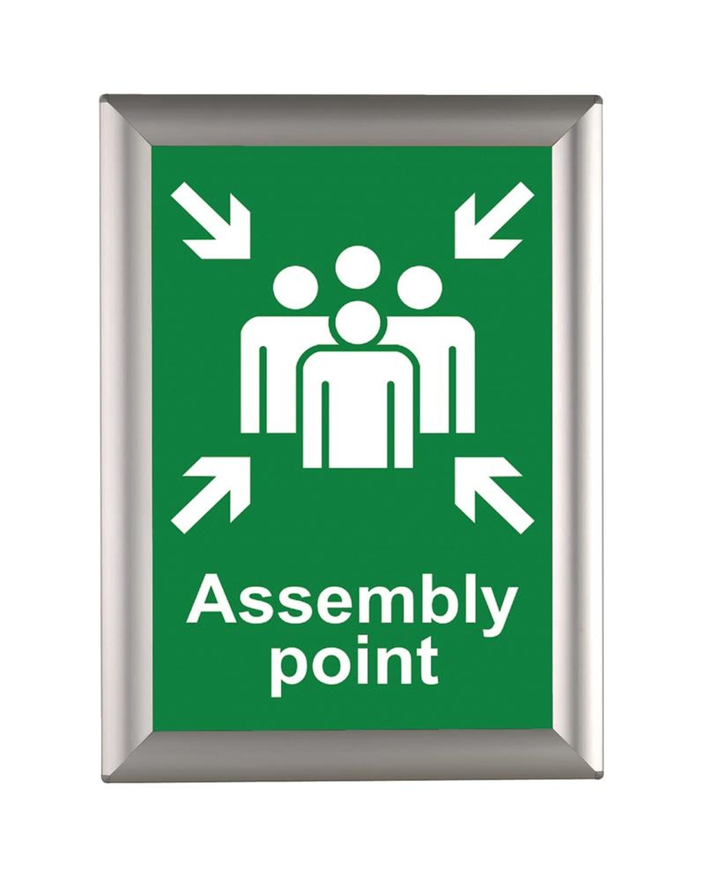 Busygrip Alu Poster Frame A4 Pack Of 5