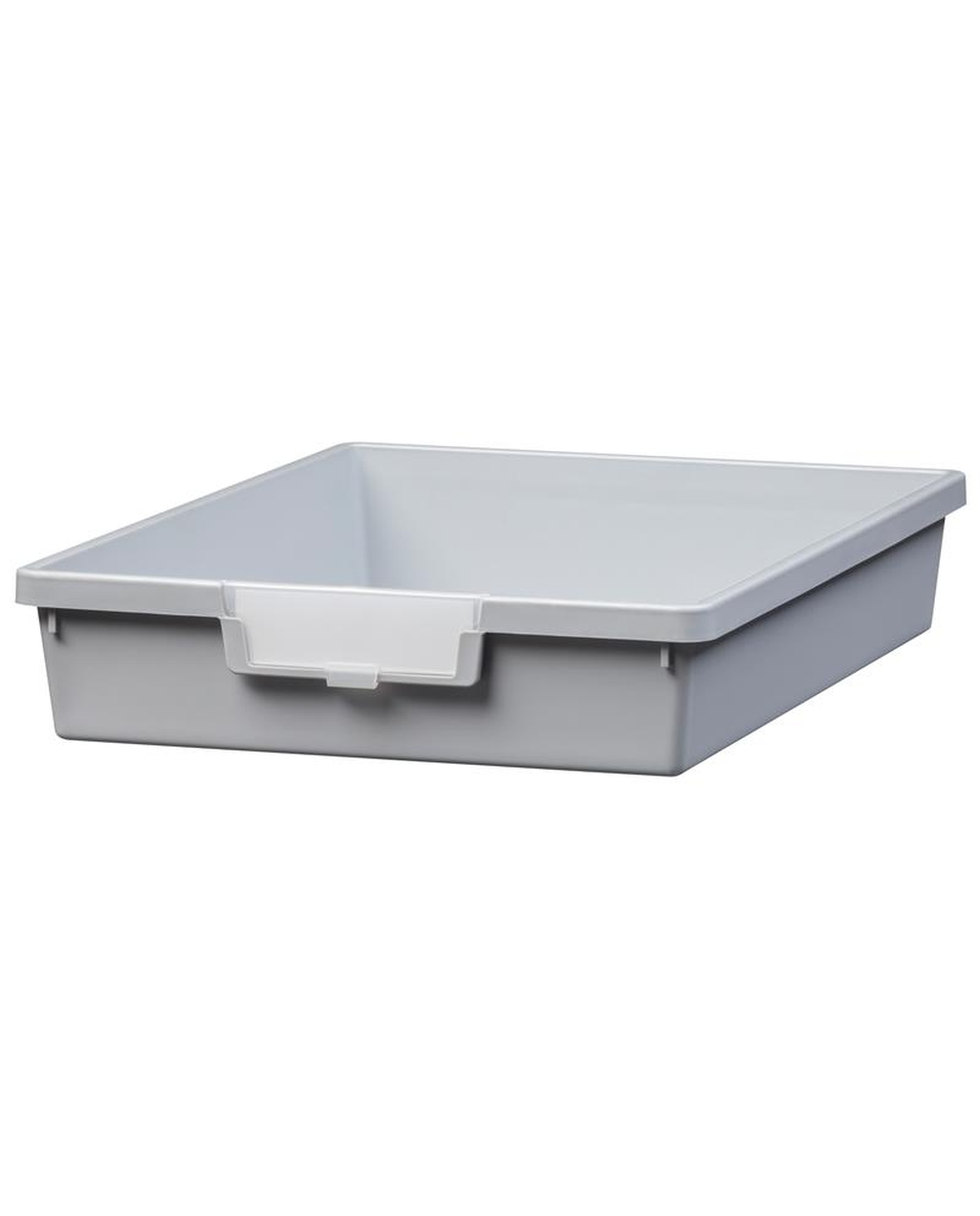 Shatterproof Single Depth Tray Cool - Grey