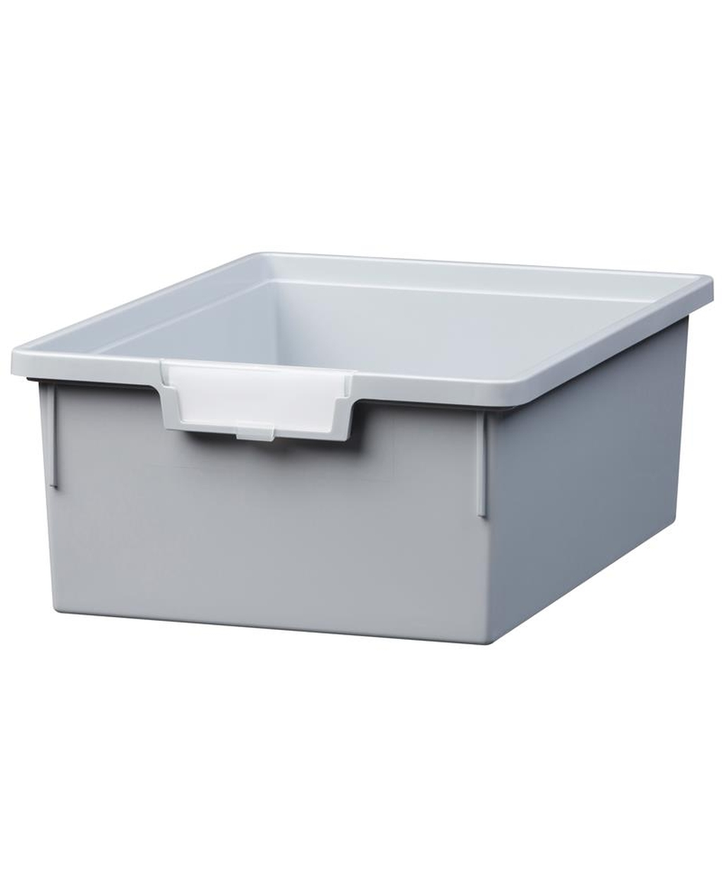 Shatterproof Double Depth Tray - Cool Grey