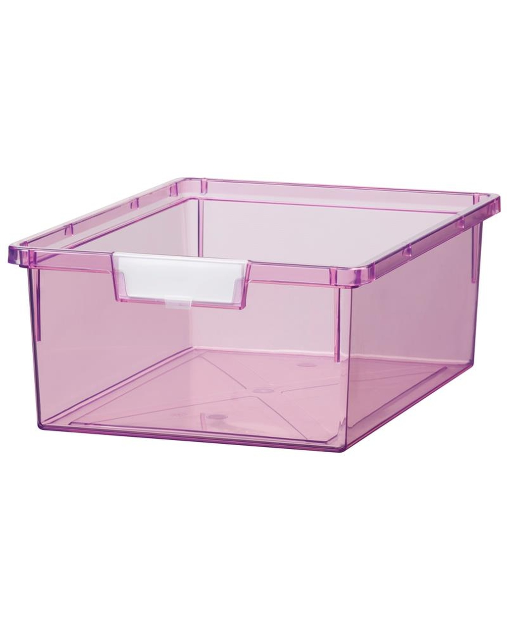 Shatterproof Double Depth Tray - Tint Purple