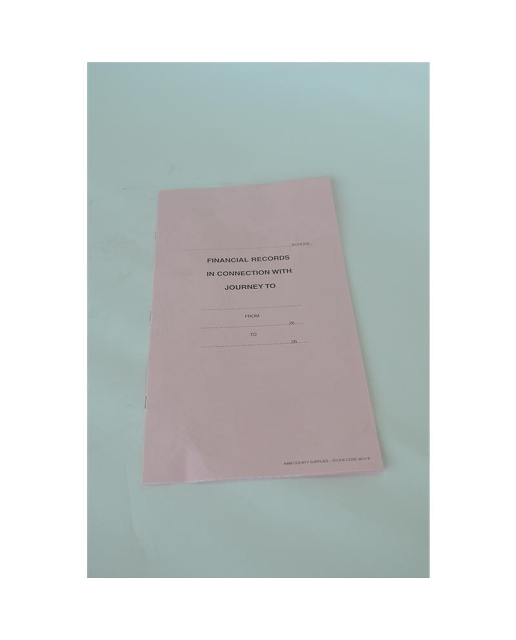 A488 School Journey Form