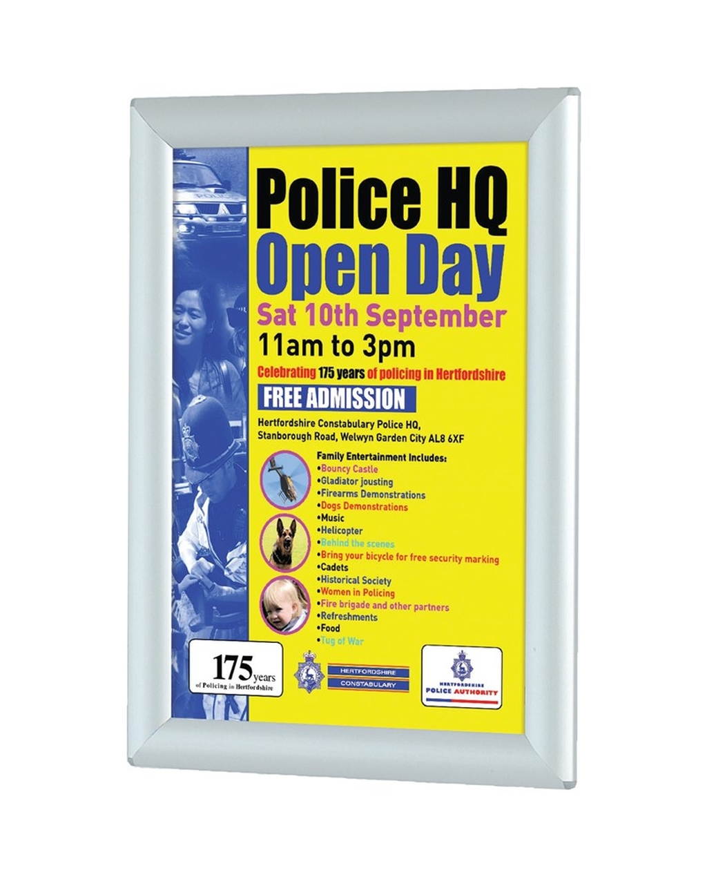 Snap Poster Frame A4 H297 x W210mm