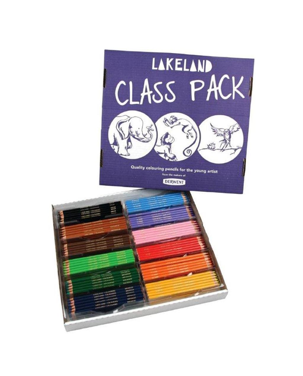 Lakeland Colouring Pencils - Classpack