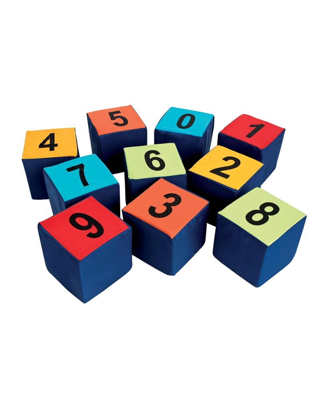 10 Number Seating Cubes