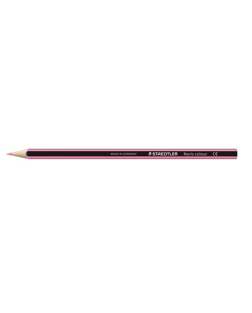 Staedtler Noris Colour Colouring Pencils - Pink