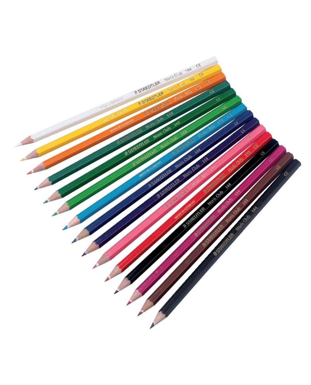 Staedtler Noris Colour Colouring Pencils - Peach