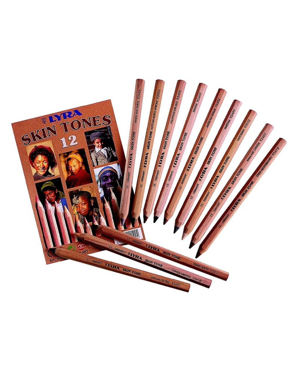 Lyra Skin Tone Pencils