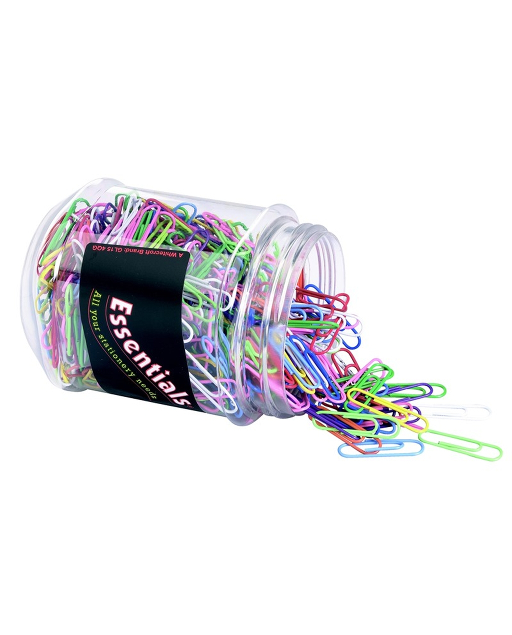 Coloured Paper Clips 30mm