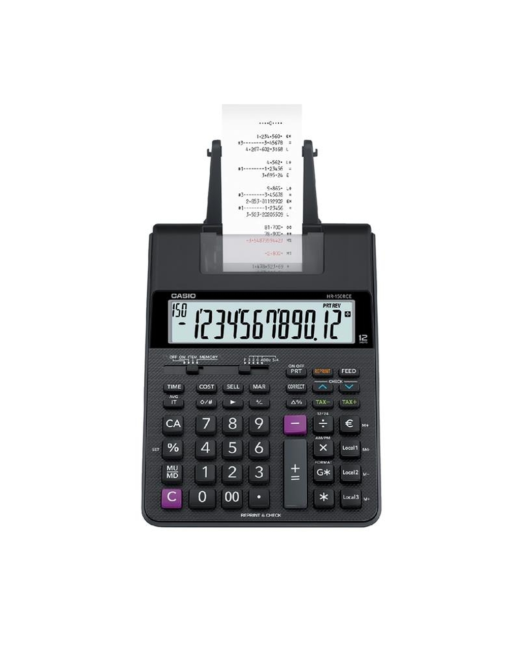 Casio HR150-RCE Printing Calculator