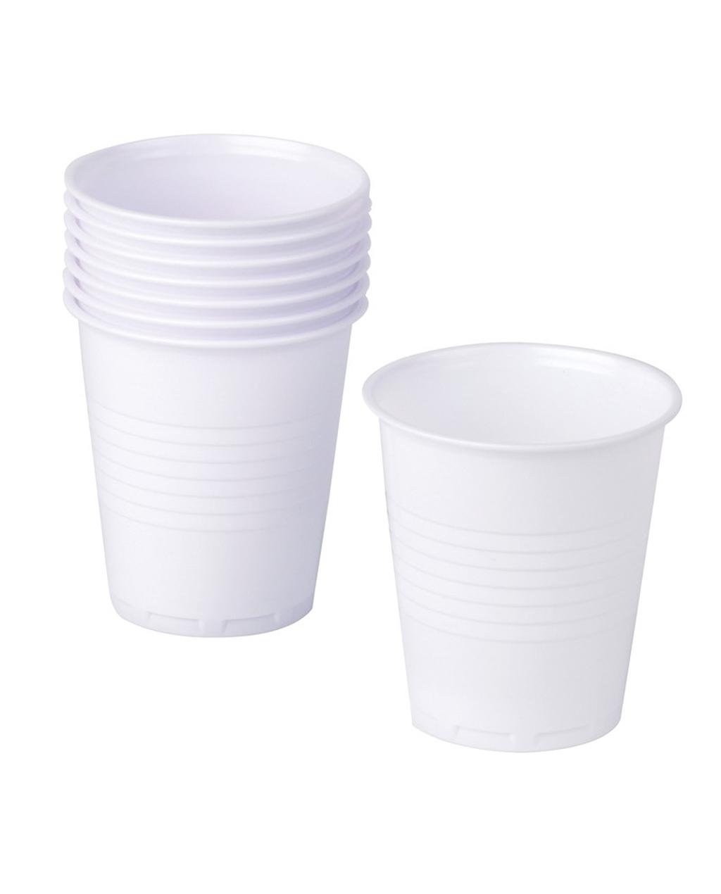 7oz Squat Plastic Cups - For Vending Machines