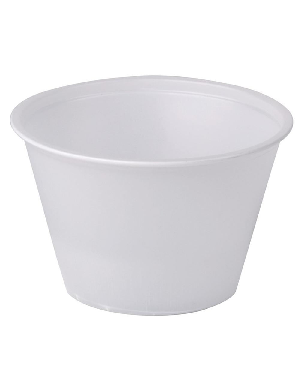 4oz Plastic Pot