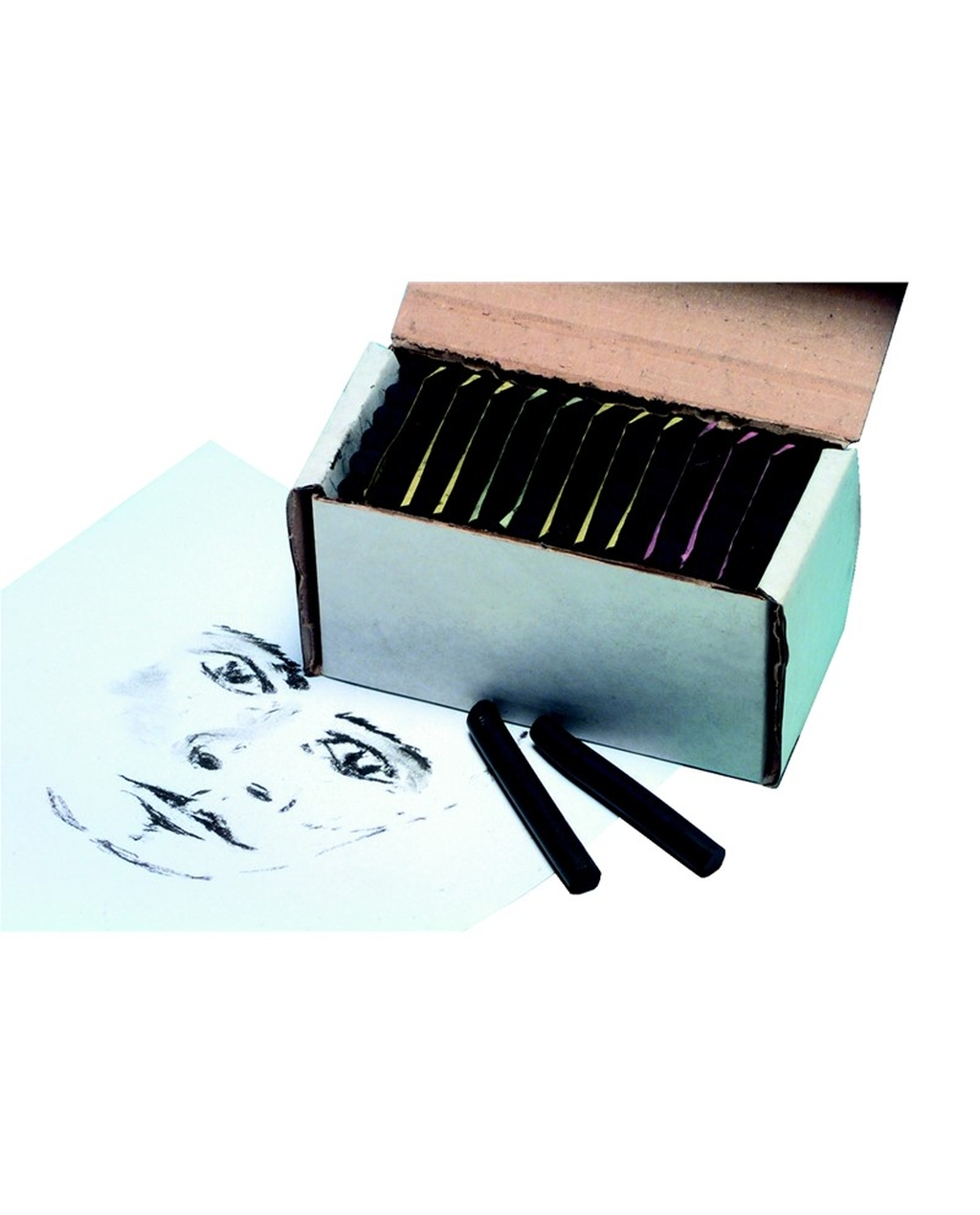 Ocaldo Artists Black Chalk Pastels