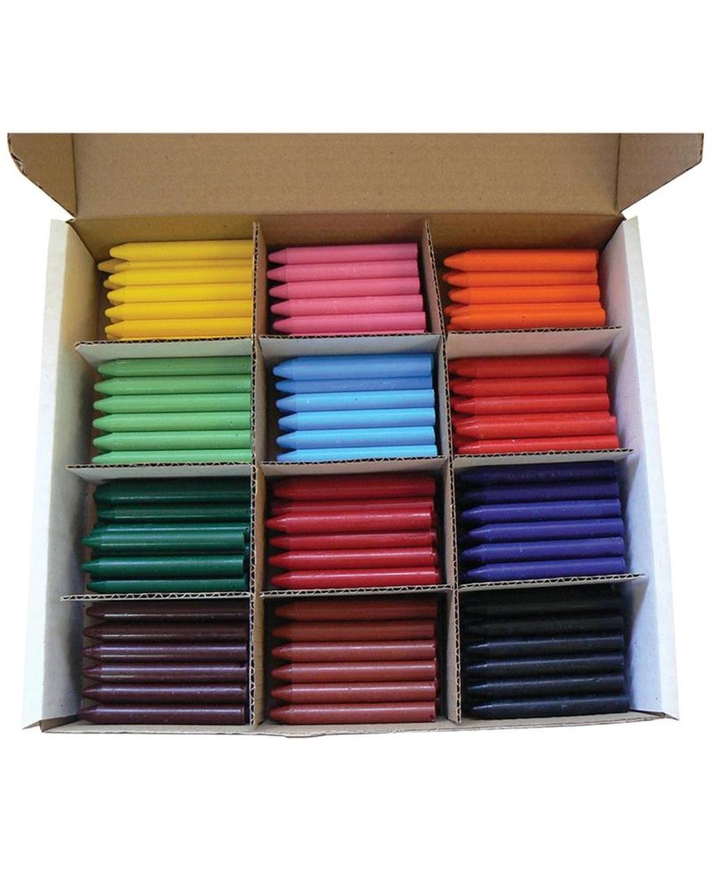 Standard Wax Crayons