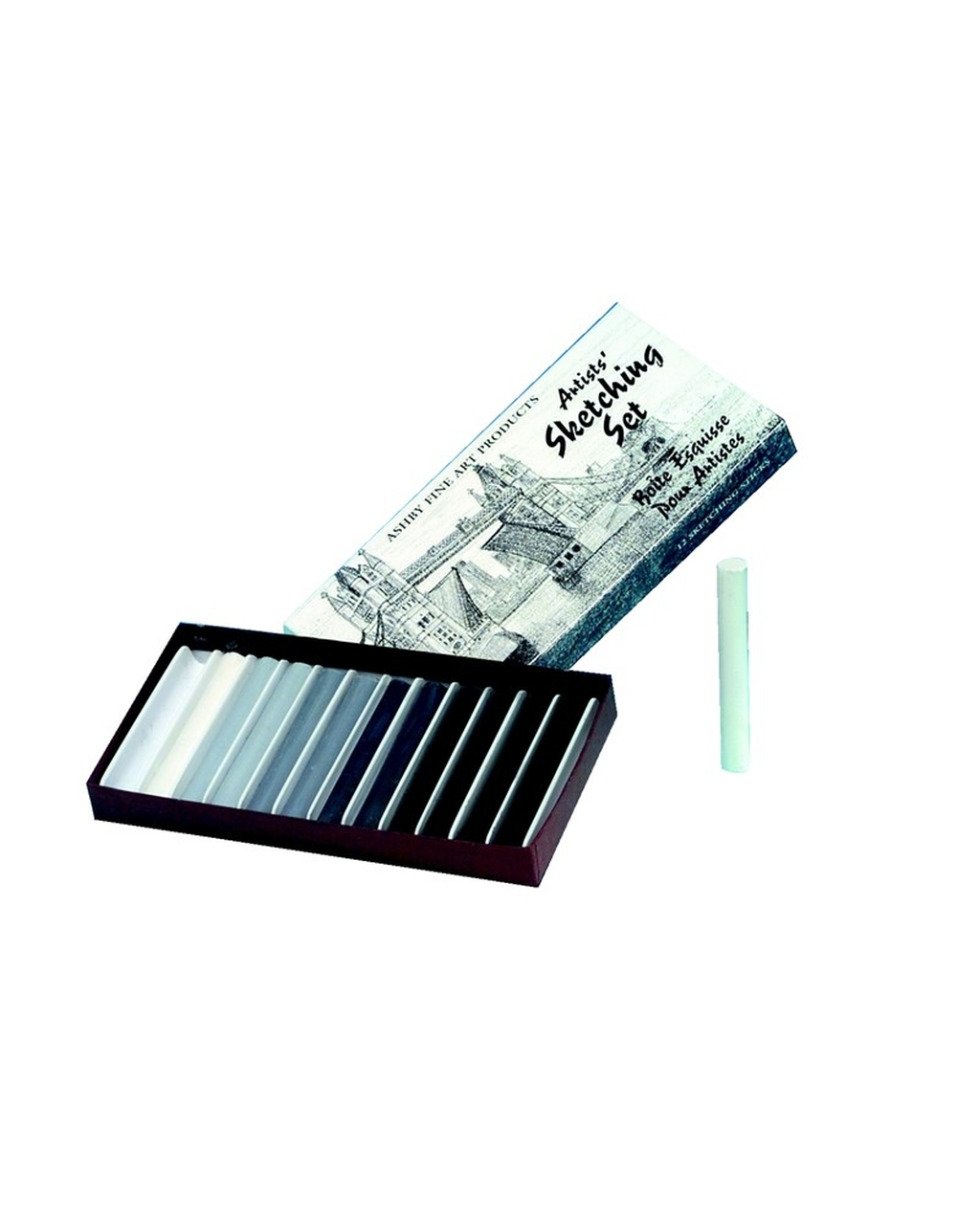 Ocaldo Ashby Fine Arts Chalk Sketching Set
