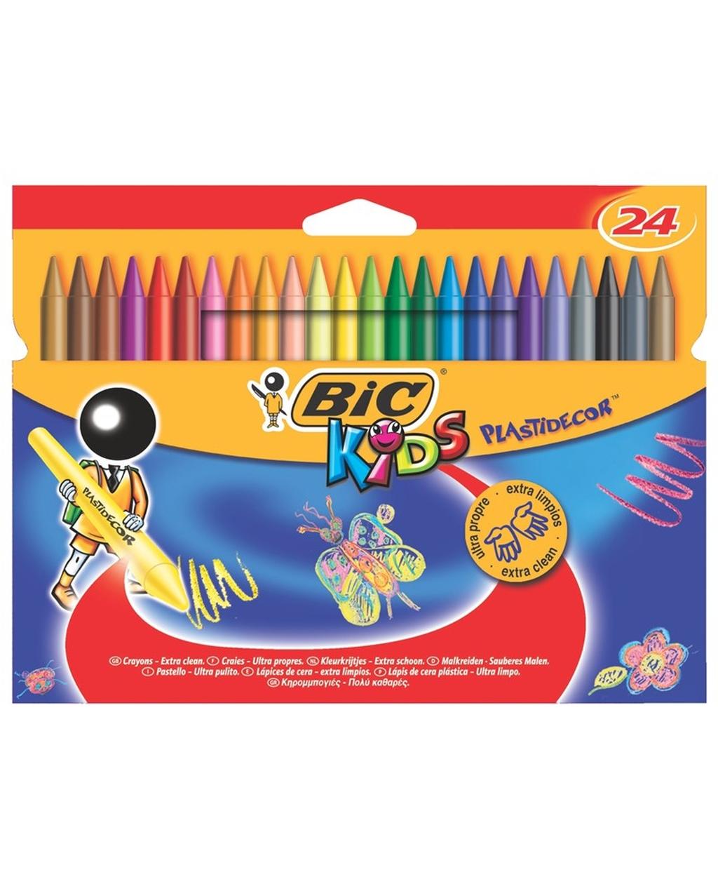 Plastidecor Plastic Crayons