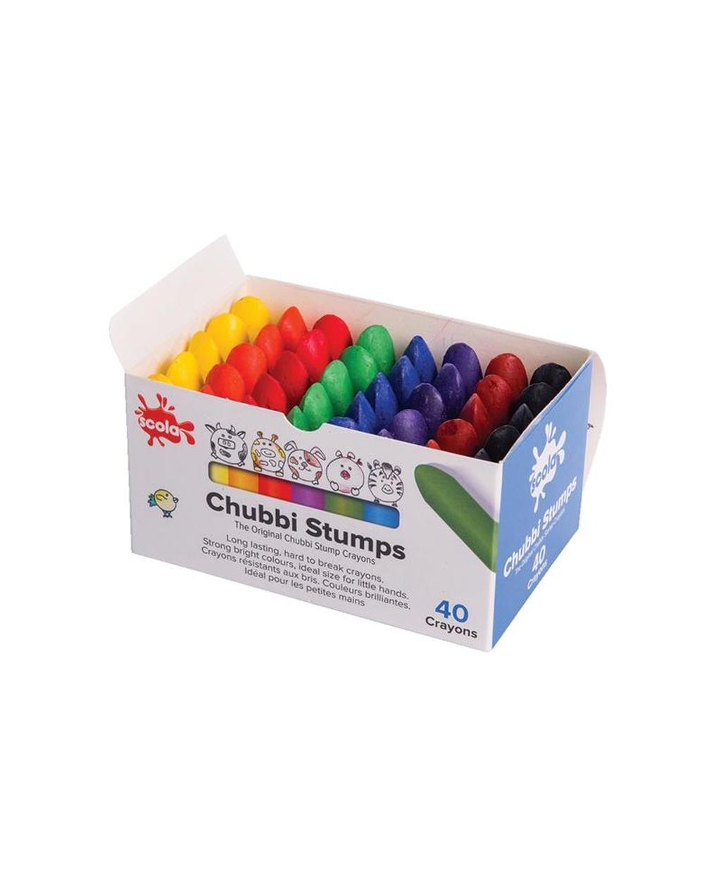 Chubby Wax Crayons