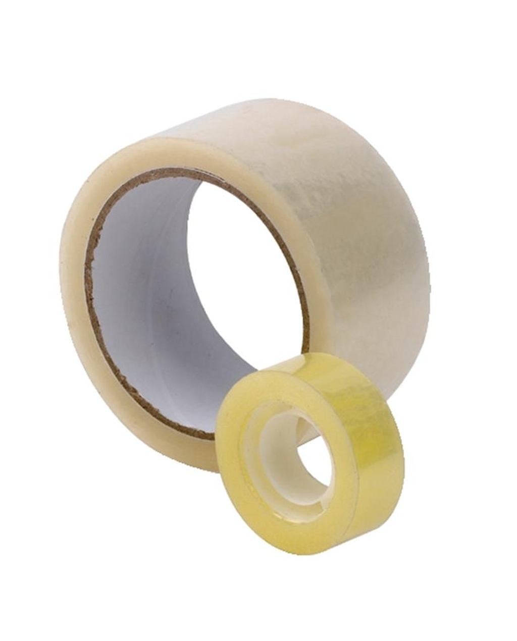 Clear Adhesive Tape - 48 x 66m, 76mm core