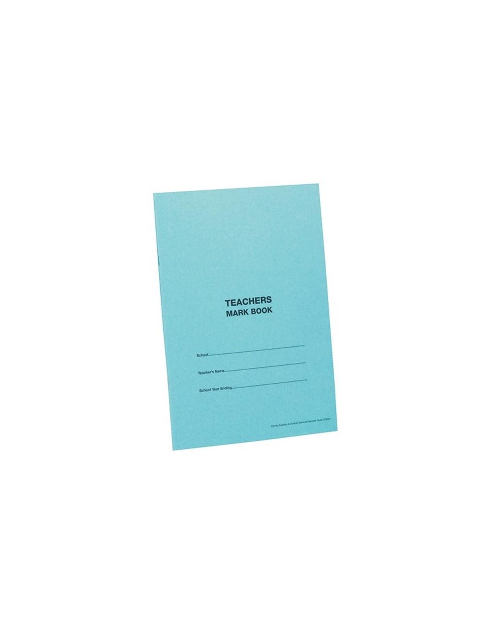 A4 Teacher's Mark Book