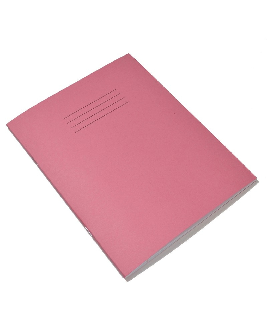 Exercise Book 9 x 7 (229 x 178mm) Pink Cover10mm Ruled 48 Pages