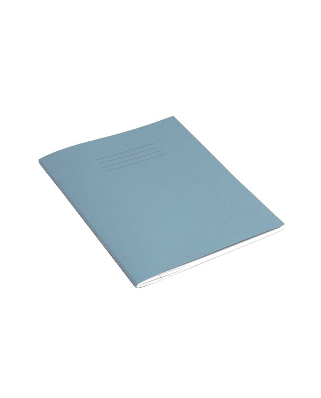 Exercise Book 9 x 7 (229 x 178mm) Light Blue Cover 8mm Ruled & Margin 48 Pages