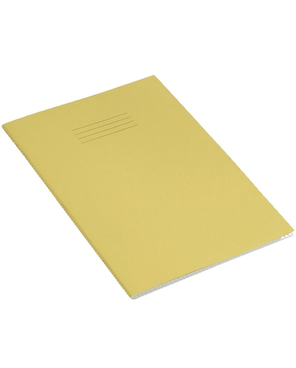 Exercise Book 9 x 7 (229 x 178mm) Yellow Cover 10mm Squares 48 Pages