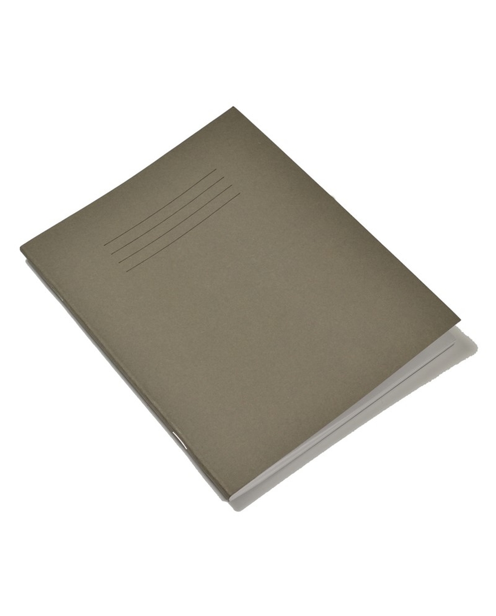 Exercise Book 9 x 7 (229 x 178mm) Grey Cover 8mm Ruled 48 Pages