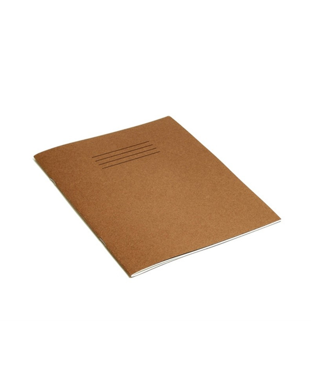 Exercise Book 9 x 7 (229 x 178mm) Buff Cover 8mm Ruled / Plain Alternate Pages 48 Pages