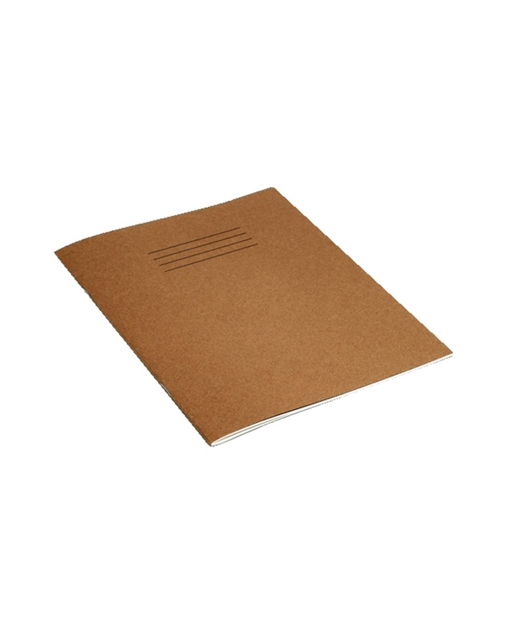 Exercise Book 9 x 7 (229 x 178mm) Buff Cover 8mm Ruled 48 Pages